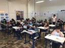 Alunos do 5º ano do EF realizam simulado de Português e Matemática