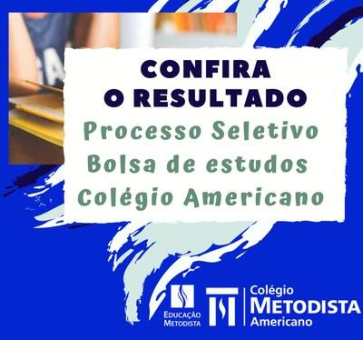 Colégio Americano divulga resultados de processo seletivo para bolsas de estudos