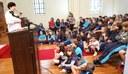 Culto de Páscoa estimula reflexão dos alunos