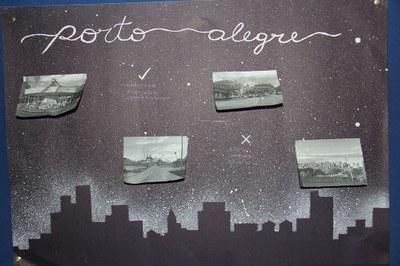 Exposição do 1º ano do Ensino Médio une Geografia e Poema em homenagem a Porto Alegre