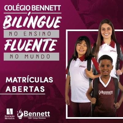 Colégio Metodista Bennett está com matrículas abertas para 2020