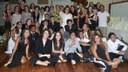 Familiares e alunos do 9º ano celebram o final do ano letivo