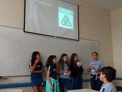 Atividade apresenta aos alunos importância da reciclagem