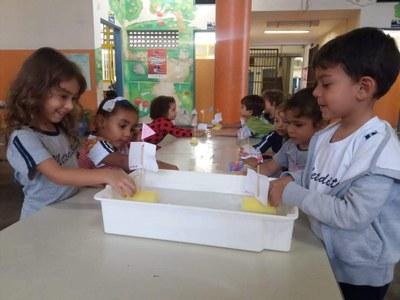 Educação Infantil comemorou o Dia da Mundial da Água