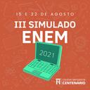 3ª edição Simulado Enem: Ensino Médio realiza provas on-line nos dias 15 e 22 de agosto
