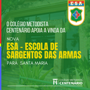 Colégio Centenário está junto com Santa Maria para receber a ESA