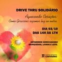 Colégio Centenário promove Ação Solidária via Drive Thru