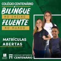 Colégio Centenário está com matrículas abertas para 2020