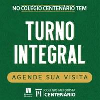 Colégio Centenário oportuniza Turno Integral