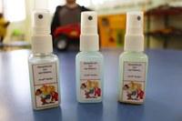Para ocasionar memória olfativa, turmas da Educação Infantil criam seus próprios aromas