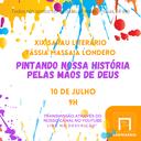 XIX Sarau Literário será sábado, 10 de julho, com transmissão ao vivo