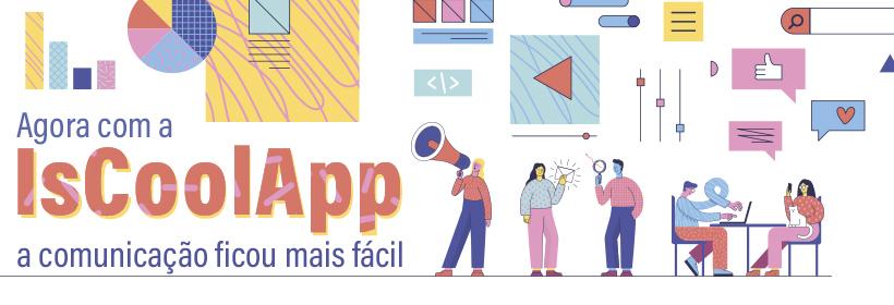 Renove ou adquira o IsCool App