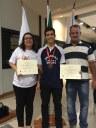 Aluno do Ensino Médio recebe medalha na Olimpíada Mineira de Matemática