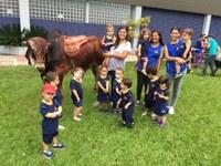 """Alunos da Educação Infantil participam do projeto """"Os animais"""""""