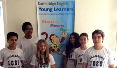 Alunos do Colégio fazem Cambridge Exams