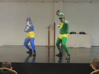 Apresentação de teatro da Cemig garante informação e diversão aos alunos do Fund I