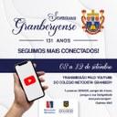 Em formato on-line, Semana Granberyense terá início no dia 8 de setembro