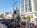 Granberyenses participam de Hora Cívica