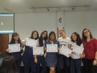 Granberyenses recebem certificado de Cambridge e da Emory e Henry College