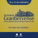 Semana Granberyense será realizada entre os dias 10 e 15 de setembro