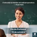 Recado ao que educa - Dia dos Professores/as - 2021