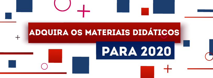Adquira os materiais didáticos 06/01/2020