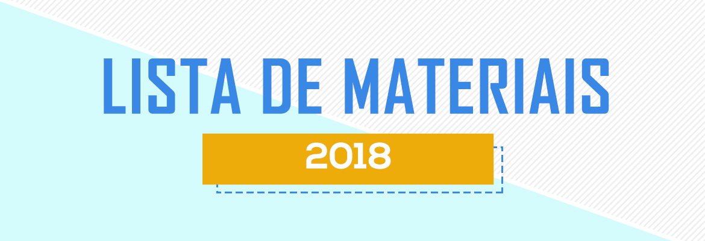 Lista de Material 2018