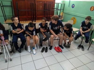 Alunos do IAL participam do projeto Crescer Saudável