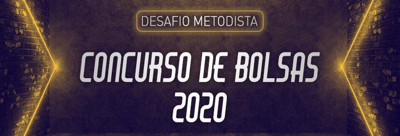 Desafio Metodista - Concuro de Bolsas 2020