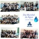 Alunos celebram Dia Mundial da Água