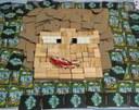 Alunos do Fundamental criam mosaicos em aula de artes