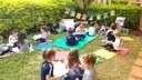 Colégio transforma-se em espaço de leitura no Dia Nacional do Livro Infantil