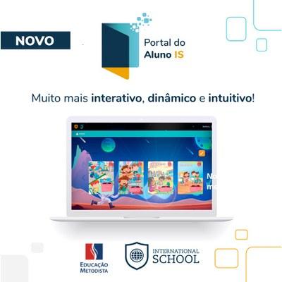 International School lança Novo Portal do Aluno IS