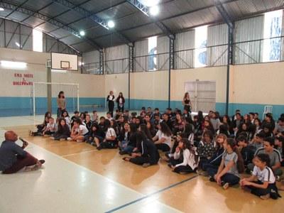 Páscoa é celebrada entre os alunos do Colégio