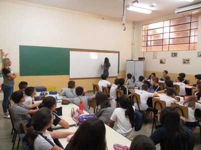 Tipografia de Letras é tema de oficina para alunos do 4º e 5º anos
