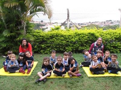 Turmas da Educação Infantil e do 1º ano realizam atividade sobre conscientização do uso da água