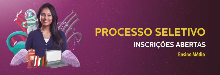 Banner - Processo Seletivo 2016-2 - Ensino Médio