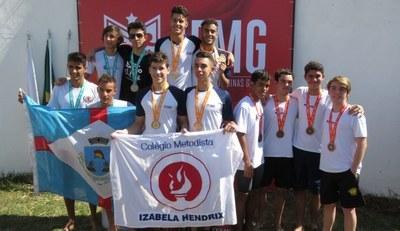 Nossos alunos atletas viveram experiências gloriosas nos Jogos Escolares de Minas Gerais, em Uberaba