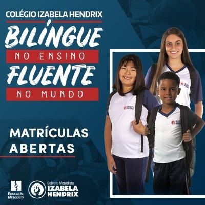 Colégio Izabela Hendrix está com matrículas abertas para 2020