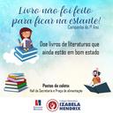 Colégio realiza campanha de troca de livros