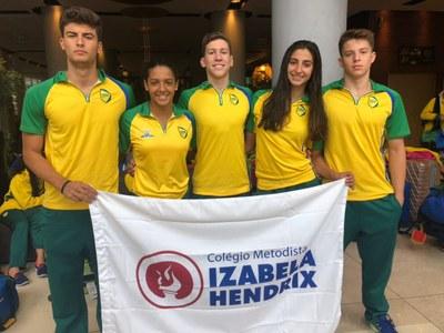 Estudantes trazem medalhas e posições de destaque da Gymnasiade 2018