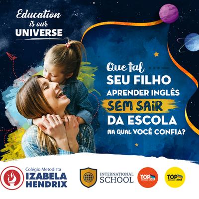 Programa Bilíngue é adotado ao ensino do Colégio Izabela Hendrix