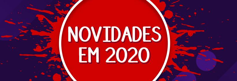 Banner Novidades em 2020