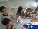 Aula projeto Bilíngue 1º Ano - Massinha caseira.