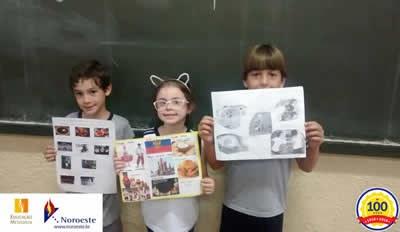 2º ano - Conhecendo mais sobre as crianças do mundo