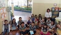 A alegria da volta às aulas
