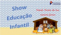 Convite - Show da Educação Infantil