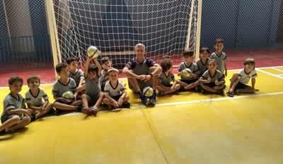 Futsal na Educação Infantil e 1º ano