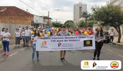 INB realiza caminhada comemorativa pelos 100 anos