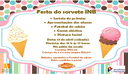 NOVA DATA PARA A FESTA DO SORVETE!!!!